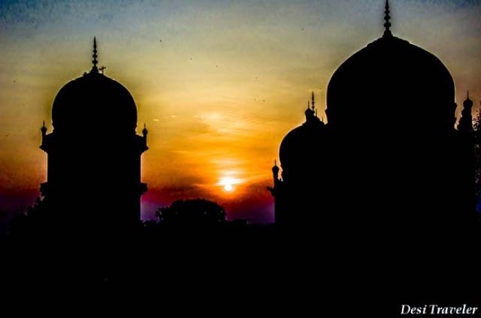 Qutub Shahi Tombs Sunset
