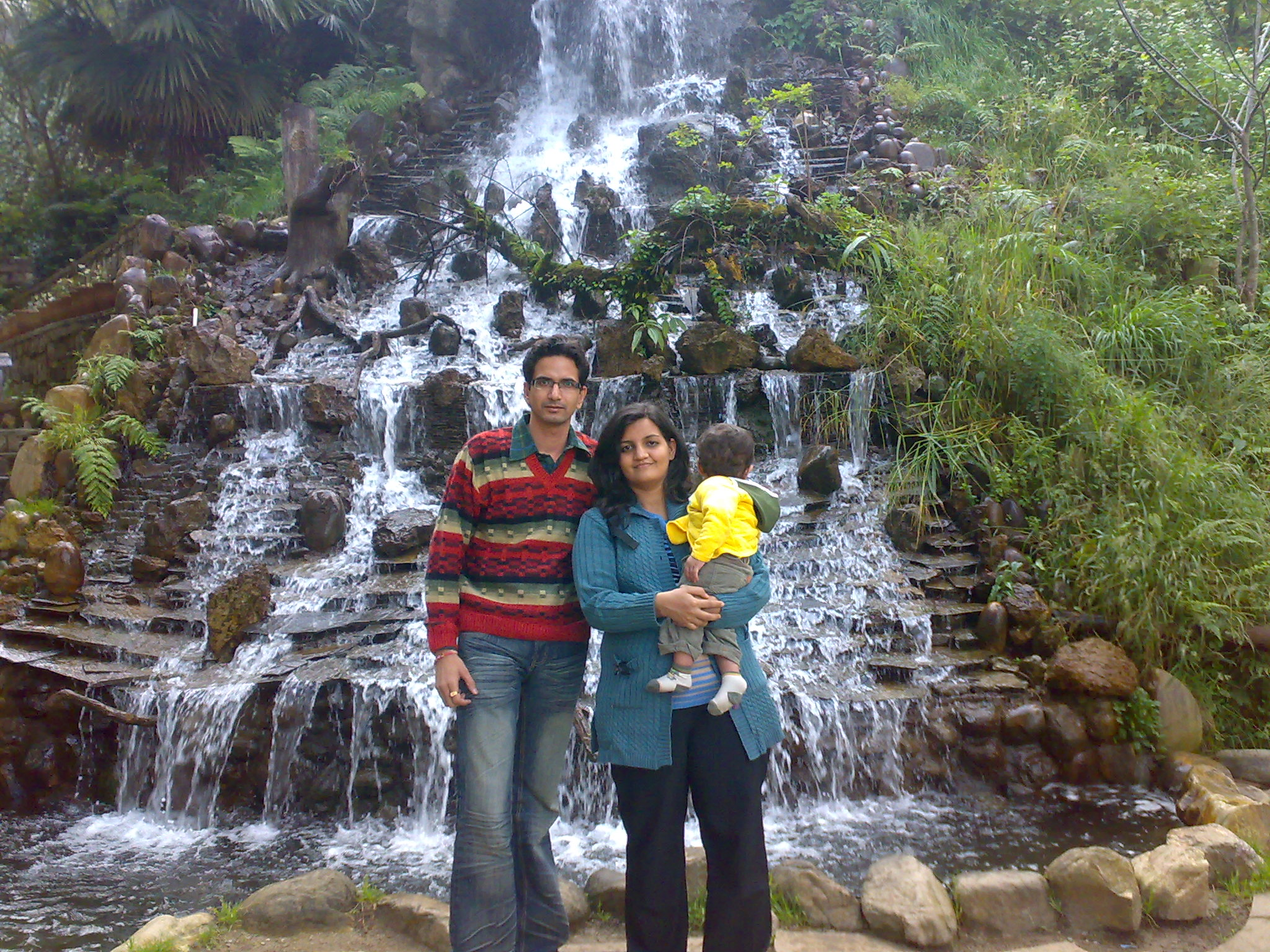 Pic 13 Artificial Waterfall Ghumakkar Inspiring Travel