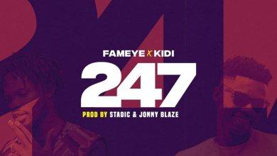 Photo of Fameye – 247 Ft KiDi (Prod. by Jonny Blaze)