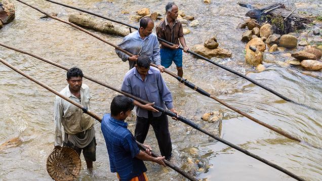Ngành công nghiệp trang sức và đá quý của Sri Lanka pha trộn giữa thực tiễn và kinh nghiệm truyền thống với nhu cầu của thị trường toàn cầu hiện đại.Ảnh của Andrew Lucas / GIA.