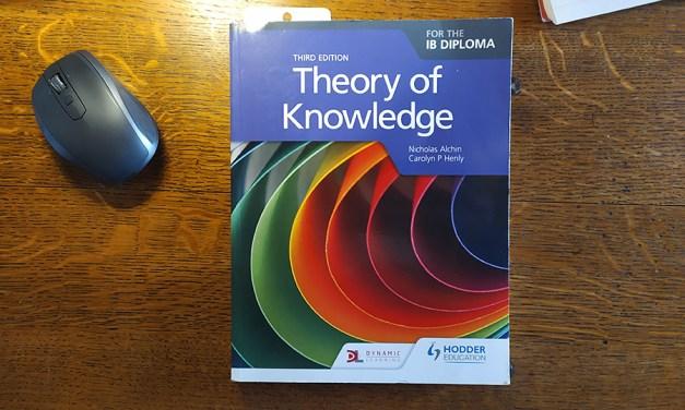 Theory of Knowledge – Teoria della Conoscenza
