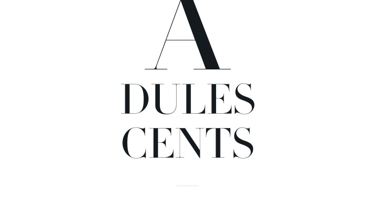 Adulescents – Editorial