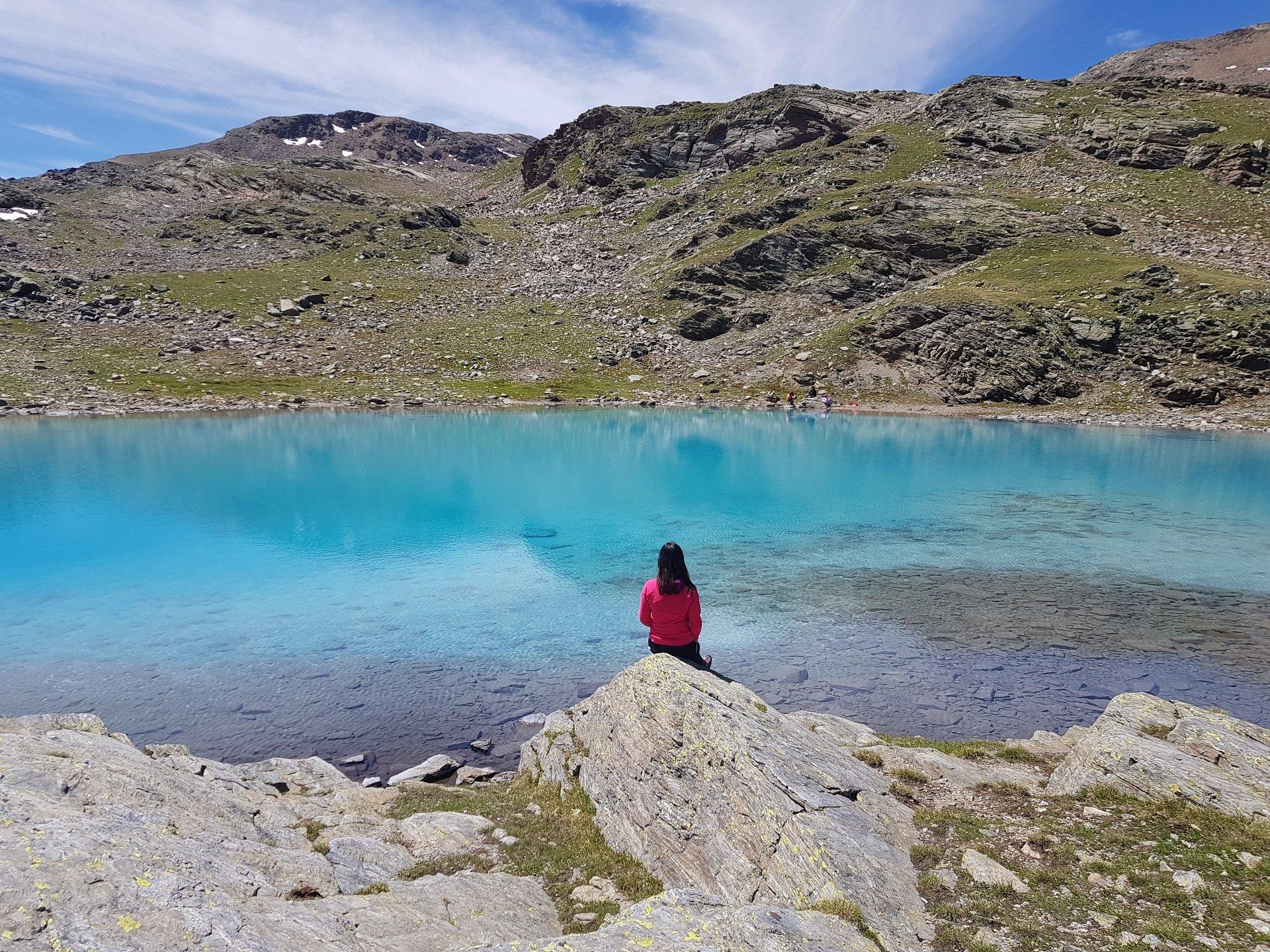 Lago Azzurro Bormio splendida vista