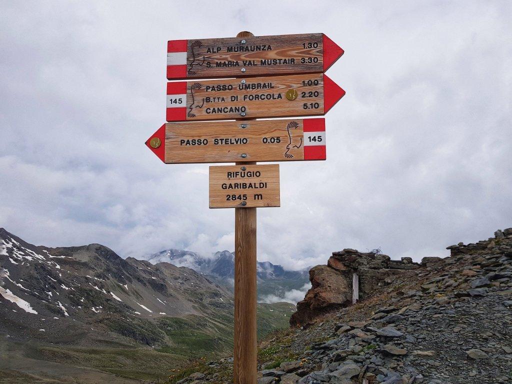 Passo Umbrail dal Rifugio Garibaldi