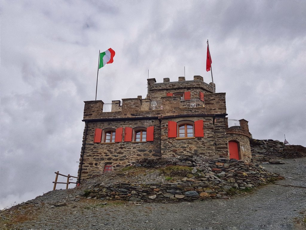 Rifugio Garibaldi Passo dello Stelvio