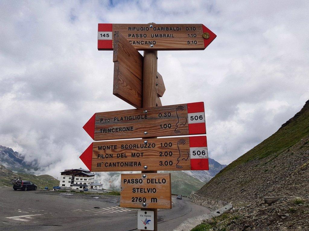 Sentiero Rifugio Garibaldi