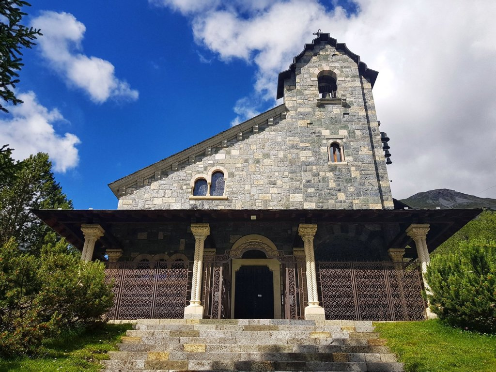 chiesa dedicata ai morti sul lavoro e per la patria