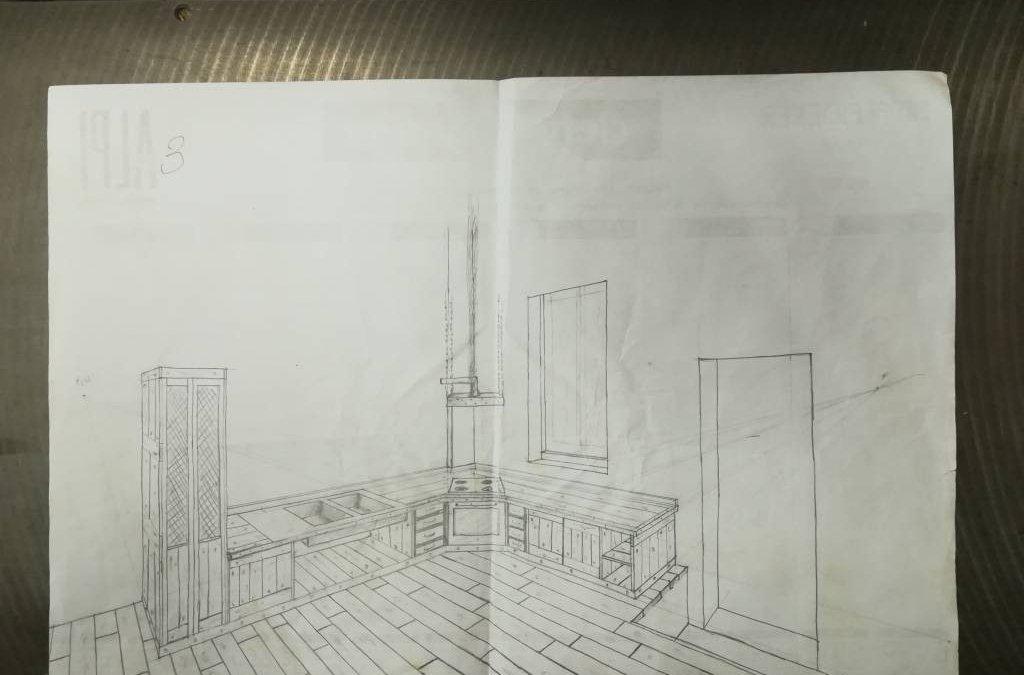 Cucina industrial design
