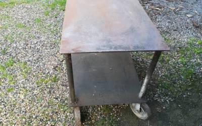 Carrello in ferro da officina anni 60-70