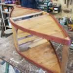 Trabiccolo/scaldino in legno modificato