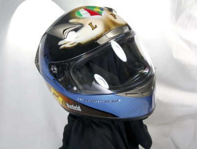 Anggun Tribute Helmet - Giampiero Abate