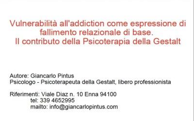 Diploma di specializzazione della Italian School on Addiction