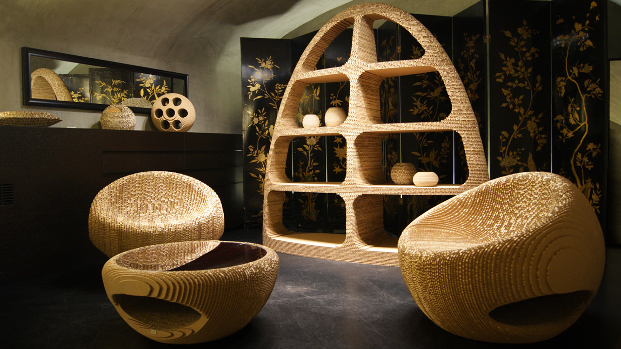 Luxury Cardboard Design Giancarlo Zema Design Group