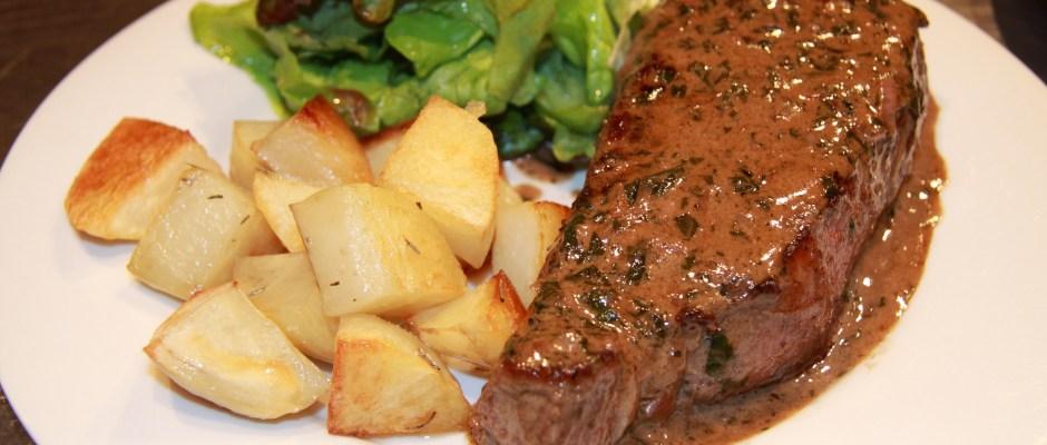 Steak with Bordelaise