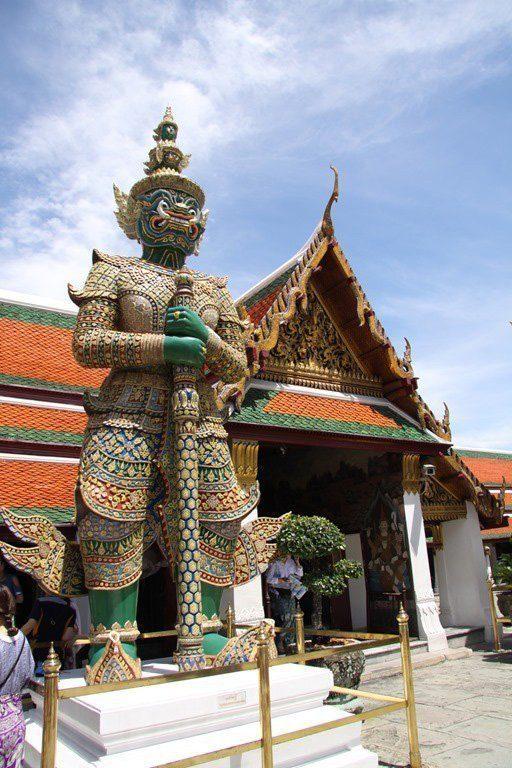 Royal Palace in Bangkok