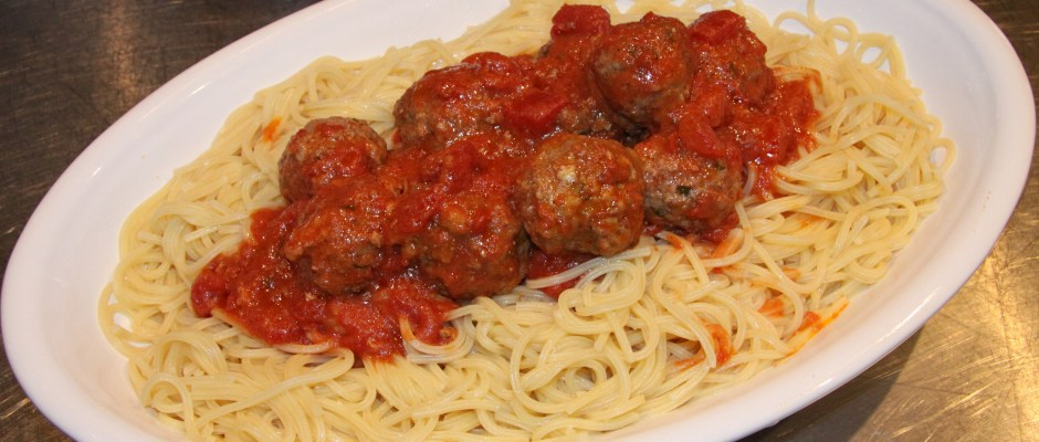 Spaghetti and Meatballs - Every one Favorite