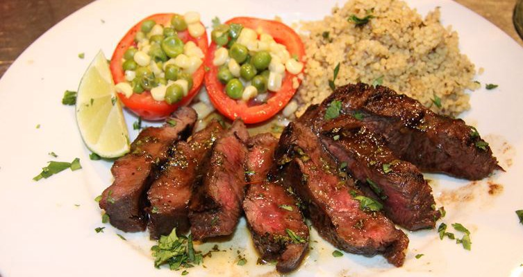 tequila lime flat iron steak