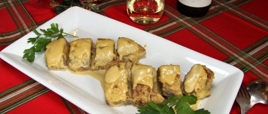 The 12 Recipes of Christmas.... Pork Tenderloin with Cream and Mustard