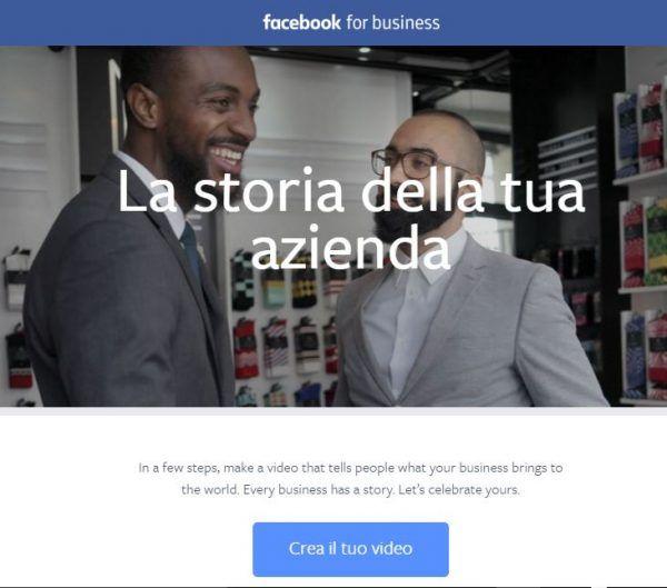 promuovere pagina Facebook