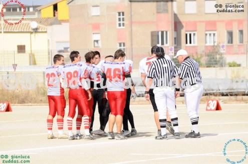Crusaders Cagliari vs Daemons Martesana, 6-48, 16 ottobre 2011 1
