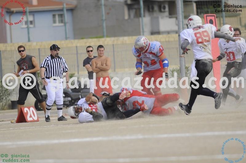 Crusaders Cagliari vs Daemons Martesana, 6-48, 16 ottobre 2011 106