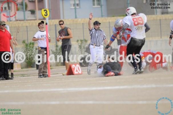 Crusaders Cagliari vs Daemons Martesana, 6-48, 16 ottobre 2011 108