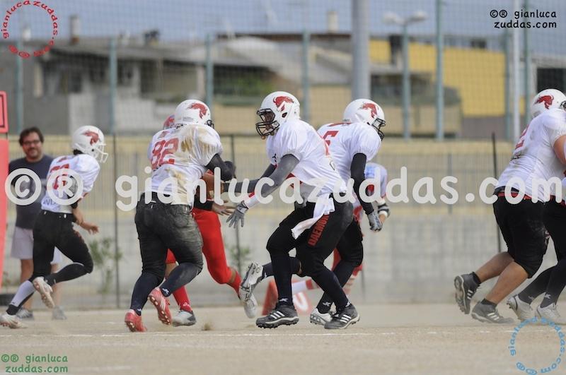 Crusaders Cagliari vs Daemons Martesana, 6-48, 16 ottobre 2011 109