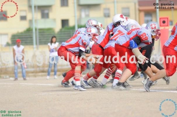 Crusaders Cagliari vs Daemons Martesana, 6-48, 16 ottobre 2011 129