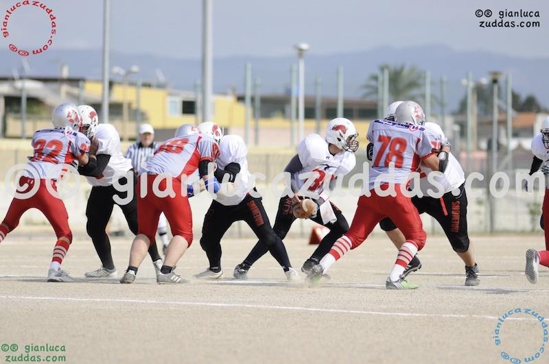 Crusaders Cagliari vs Daemons Martesana, 6-48, 16 ottobre 2011 142