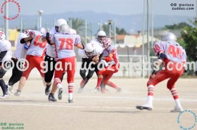 Crusaders Cagliari vs Daemons Martesana, 6-48, 16 ottobre 2011 144