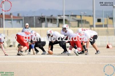 Crusaders Cagliari vs Daemons Martesana, 6-48, 16 ottobre 2011 146