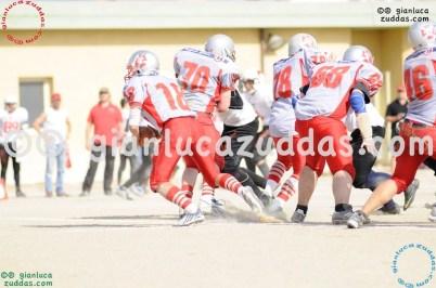 Crusaders Cagliari vs Daemons Martesana, 6-48, 16 ottobre 2011 158