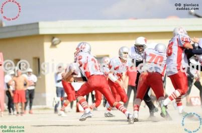 Crusaders Cagliari vs Daemons Martesana, 6-48, 16 ottobre 2011 160
