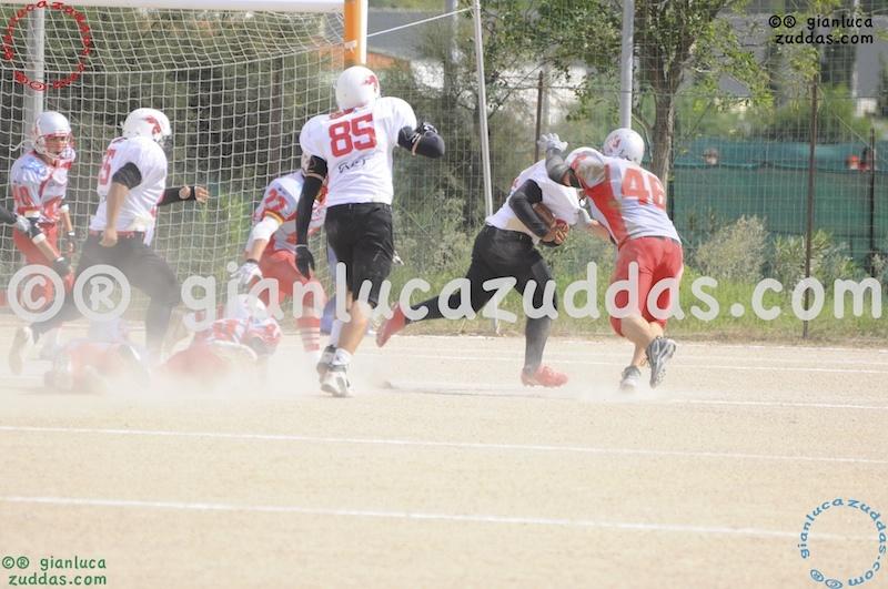 Crusaders Cagliari vs Daemons Martesana, 6-48, 16 ottobre 2011 17
