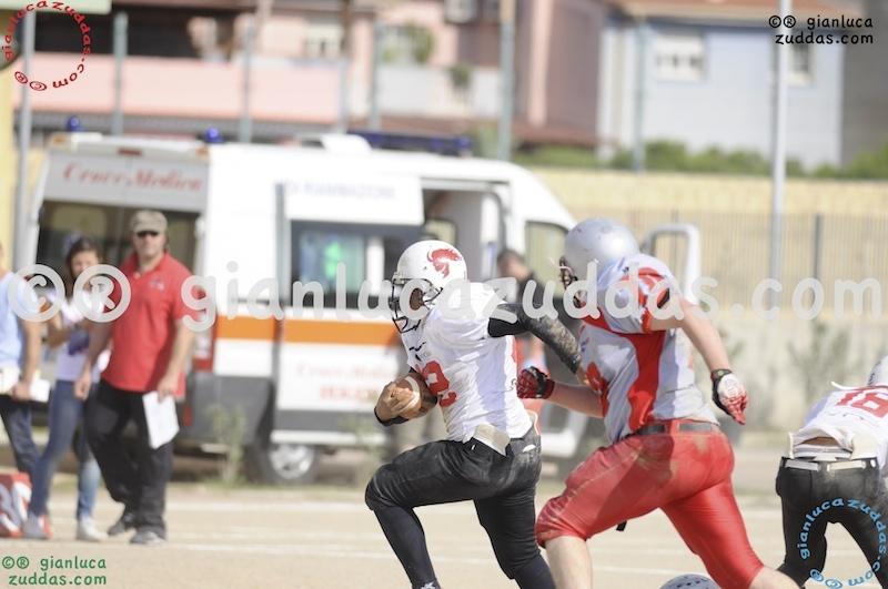 Crusaders Cagliari vs Daemons Martesana, 6-48, 16 ottobre 2011 172