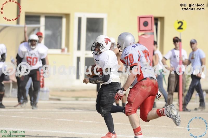Crusaders Cagliari vs Daemons Martesana, 6-48, 16 ottobre 2011 175
