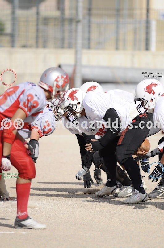 Crusaders Cagliari vs Daemons Martesana, 6-48, 16 ottobre 2011 194