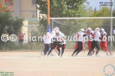 Crusaders Cagliari vs Daemons Martesana, 6-48, 16 ottobre 2011 21
