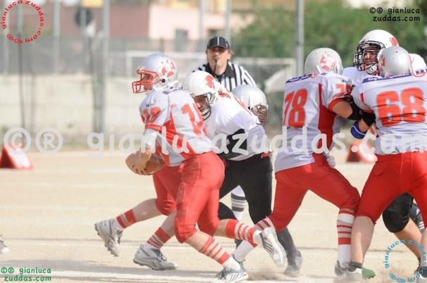 Crusaders Cagliari vs Daemons Martesana, 6-48, 16 ottobre 2011 237