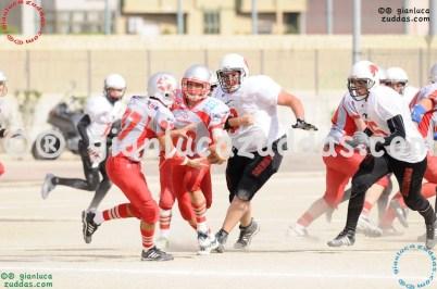 Crusaders Cagliari vs Daemons Martesana, 6-48, 16 ottobre 2011 245