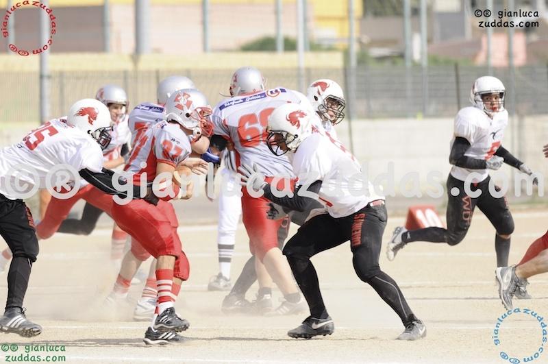 Crusaders Cagliari vs Daemons Martesana, 6-48, 16 ottobre 2011 249
