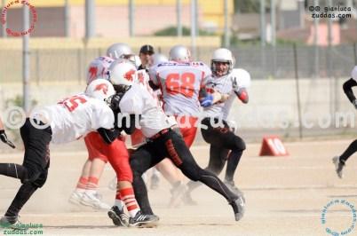 Crusaders Cagliari vs Daemons Martesana, 6-48, 16 ottobre 2011 250