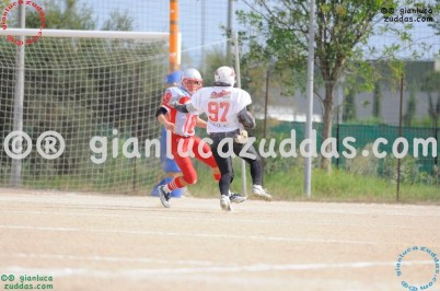 Crusaders Cagliari vs Daemons Martesana, 6-48, 16 ottobre 2011 30