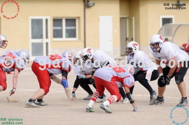 Crusaders Cagliari vs Daemons Martesana, 6-48, 16 ottobre 2011 308