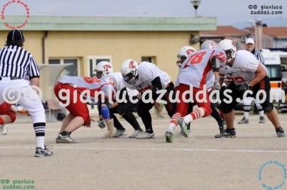 Crusaders Cagliari vs Daemons Martesana, 6-48, 16 ottobre 2011 315