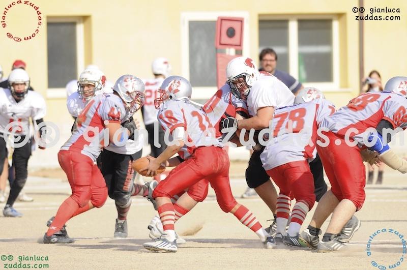 Crusaders Cagliari vs Daemons Martesana, 6-48, 16 ottobre 2011 320
