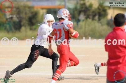 Crusaders Cagliari vs Daemons Martesana, 6-48, 16 ottobre 2011 333