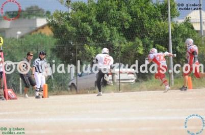 Crusaders Cagliari vs Daemons Martesana, 6-48, 16 ottobre 2011 40