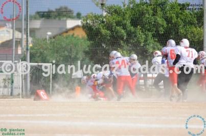 Crusaders Cagliari vs Daemons Martesana, 6-48, 16 ottobre 2011 46