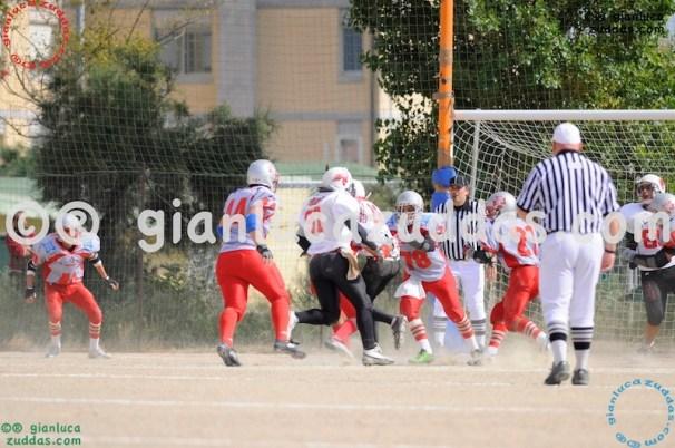 Crusaders Cagliari vs Daemons Martesana, 6-48, 16 ottobre 2011 49